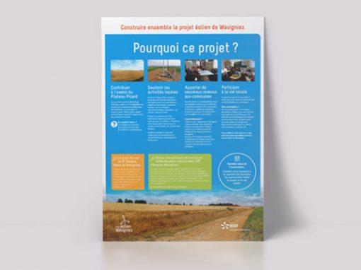 EDF Renouvelables – Projet éolien de Wavignies