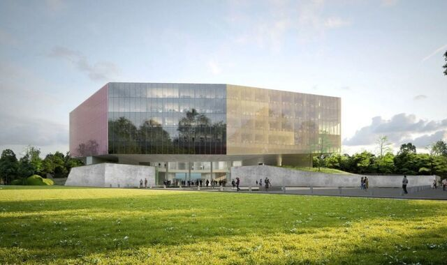 Palais Justice Lille © OMA
