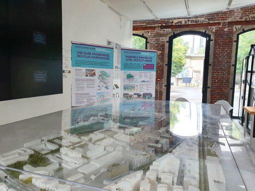 Gare d'Austerlitz et nouvel ensemble immobilier îlot A7A8