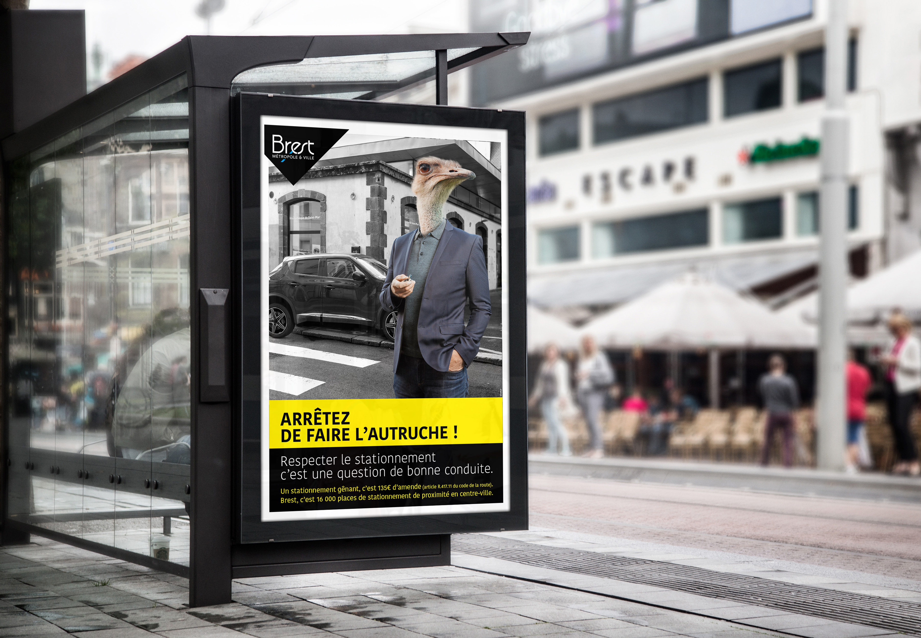 Brest affiche Abribus 1