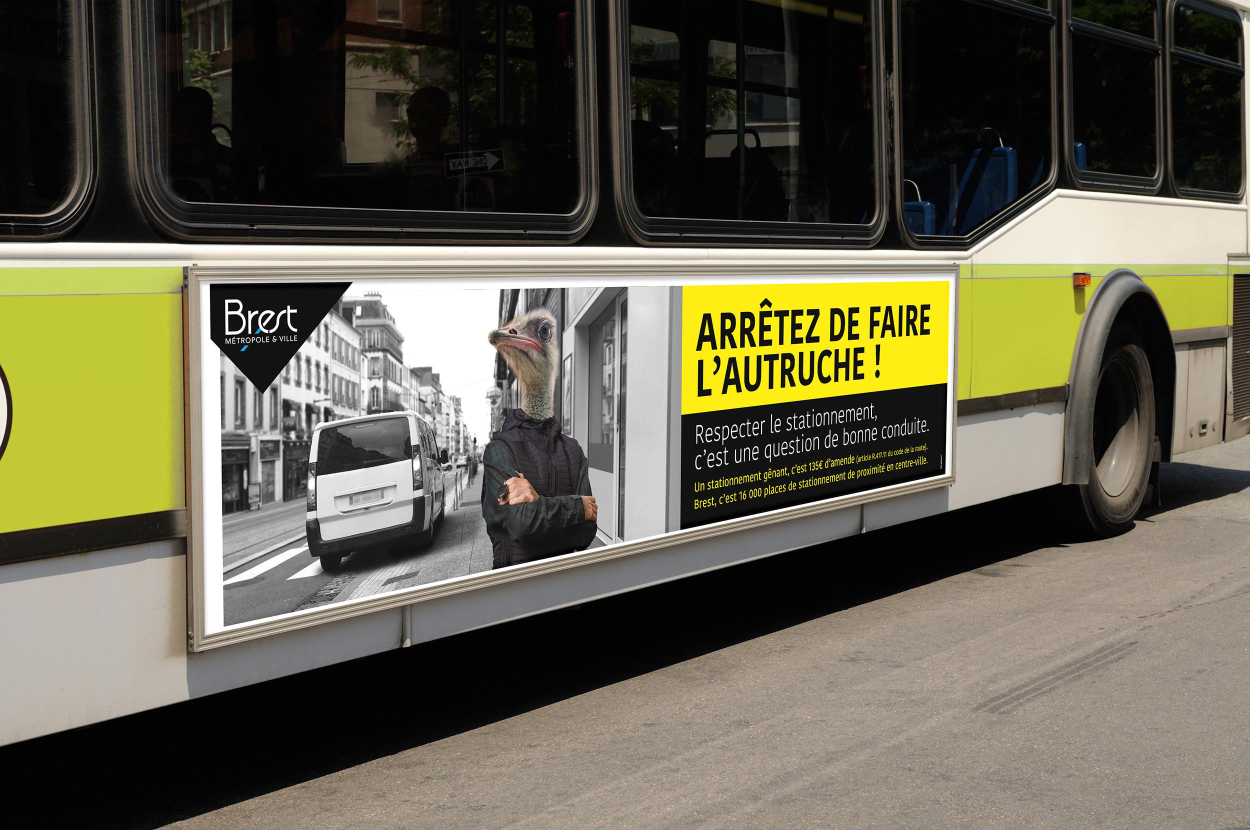 Brest affiche Bus